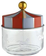 Alessi Circus Small Glass Container With Lid