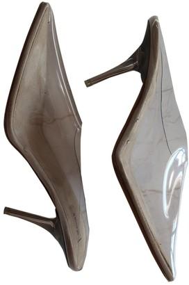 Yeezy Silver Plastic Heels
