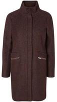 Vero Moda VMCIRI Womens 3/4 Wool Winter Coat Brown