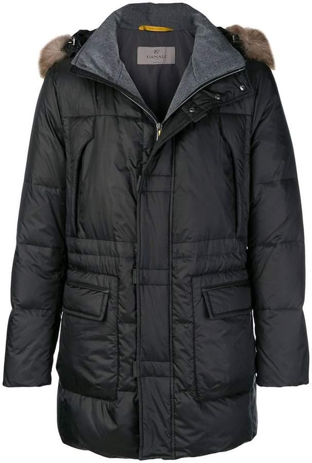 Canali padded coat