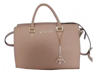Michael Kors Savannah Ecru Leather Handbags