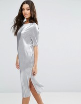 Asos Pliss T-shirt Dress