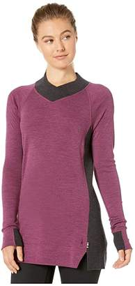 Smartwool Merino 250 Trend Tunic (Sangria Heather) Women's Clothing