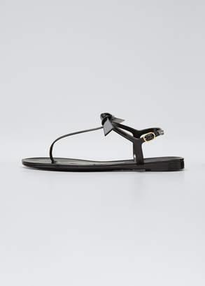 Alexandre Birman Pamella Patent Flat Sandals