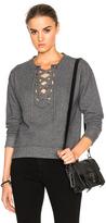 Mother Tie Up Easy Sweatshirt