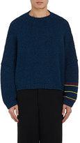 J.W.Anderson Men's Striped-Sleeve Cotton Sweater