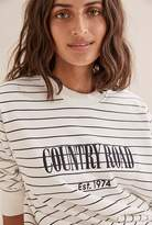 Country Road Stripe Heritage Sweat