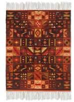 Wool rug (4x6), 'Calendar in Symmetry'