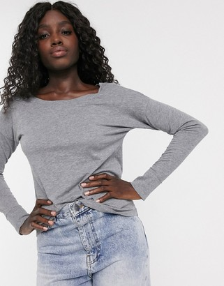 Abercrombie & Fitch cozy jersey long sleeve t-shirt