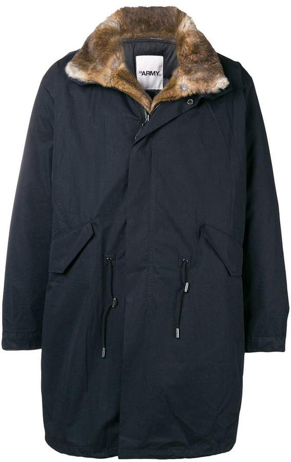 Yves Salomon Army fur-lined parka
