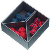 John Lewis Fabric Knot Cufflinks, 3 Pairs
