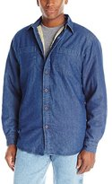 Wrangler Authentics Mens Long Sleeve Sherpa Lined Denim Shirt