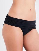 Heidi Klein Body ruched fold-over bikini bottoms