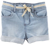 Osh Kosh Roll-Cuff Hickory Stripe Shorts