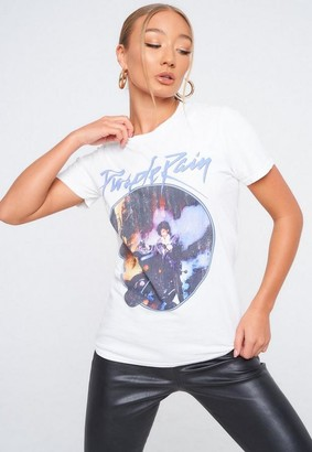 Missguided Prince Graphic T Shirt