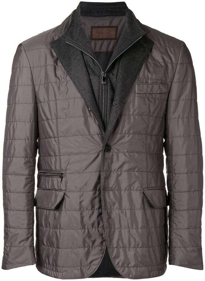 Corneliani padded blazer