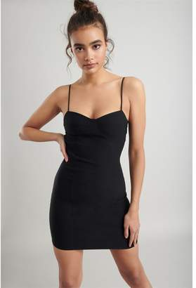 Garage Bustier Bodycon Dress