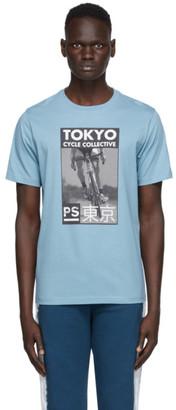 Paul Smith Blue Tokyo Cycle T-Shirt