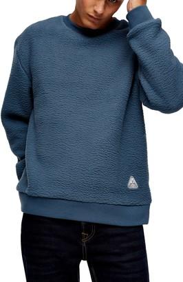 Topman Classic Fleece Crew Sweatshirt