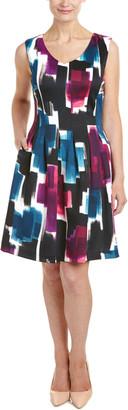 Ellen Tracy Petite Fit & Flare Dress