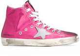 Golden Goose Deluxe Brand Fancy hi-top sneakers - women - Cotton/Leather/Satin/rubber - 37