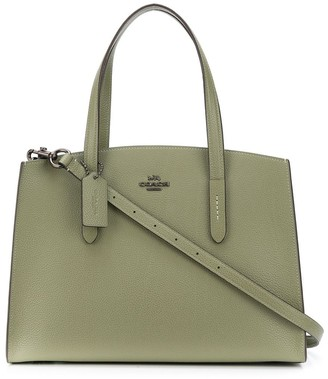 Coach Charlie top-handle tote