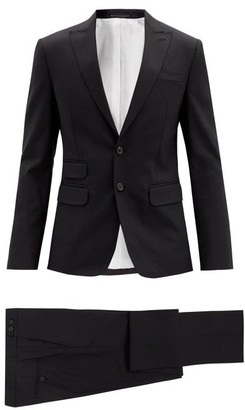 DSQUARED2 London Single-breasted Wool-blend Suit - Black