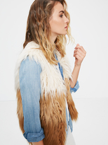Mother Tri Fur Vest - A Wolf in Sheep's Clothing