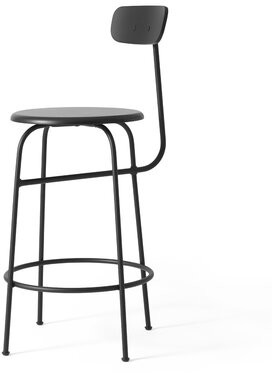 "Menu Afteroom Bar & Counter Stool Color: Black, Seat Height: Counter Stool (25"" Seat Height)"