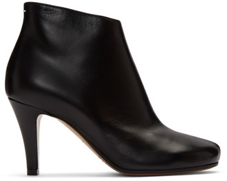 Maison Margiela Black Stiletto Boots