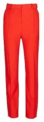 Alexander McQueen Women's High-Waist Cigarette Pants