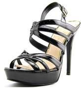 Jessica Simpson Binnie Open Toe Synthetic Platform Heel.