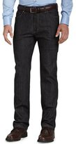 Ermenegildo Zegna Five-Pocket Jeans, Black