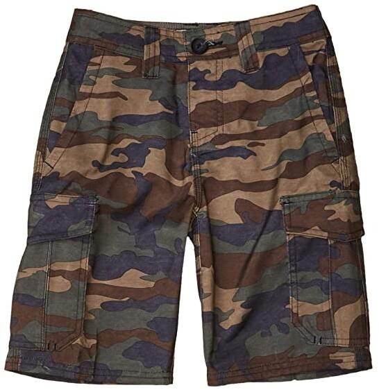 Tom Franks Boys Camo Design Print Summer 100/% Cotton Outdoor Cargo Shorts