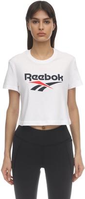 Reebok Classics Cl F Big Logo Cotton T-shirt