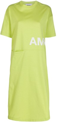 Ambush logo print T-shirt dress