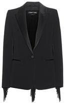 Tom Ford Fringed tuxedo jacket