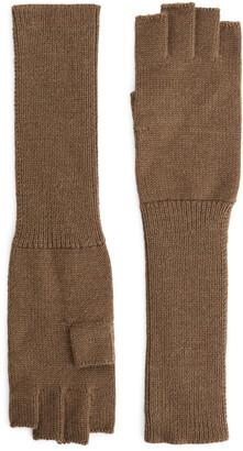 Arket Fingerless Long Gloves