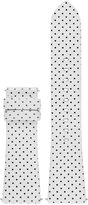 Michael Kors Access Women's Bradshaw White Leather Smart Watch Strap MKT9023