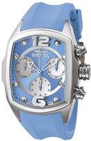 Invicta Women's 6832 Lupah Revolution Collection Chronograph Blue Polyurethane Watch