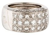 Pomellato 18K Diamond Wide Band