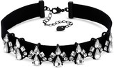 Lipsy Crystal Cluster Choker Necklace