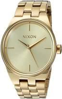 Nixon Women's A953502-00 Idol Analog Display Japanese Quartz Watch