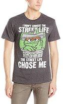 Sesame Street Men's - Street Life Chose Me T-Shirt