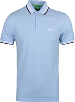 Boss Green Paddy Pale Blue Pique Polo Shirt