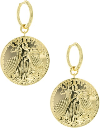 Uncommon James by Kristin Cavallari La Ventana Coin Earrings