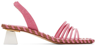 Jacquemus Pink Les Sandales Valerie Heeled Sandals
