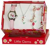 Ravel Little Gems Kids Mermaid Watch & Jewellery Gift Set For Girls R2223