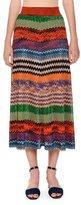 Missoni Multicolor Knit A-Line Maxi Skirt