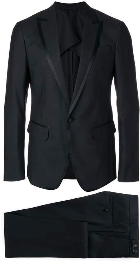 DSQUARED2 satin lapel dinner suit